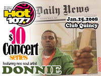Tonight's News! Donnie w/DJ Rahdu… I Know It's Late (My Bad)