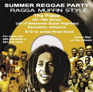 Summer Reggae Party!! Saturday June 14, 2008