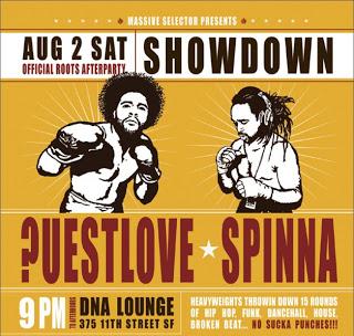 QuestLove & DJ Spinna – LIVE at DNA Lounge (2003)