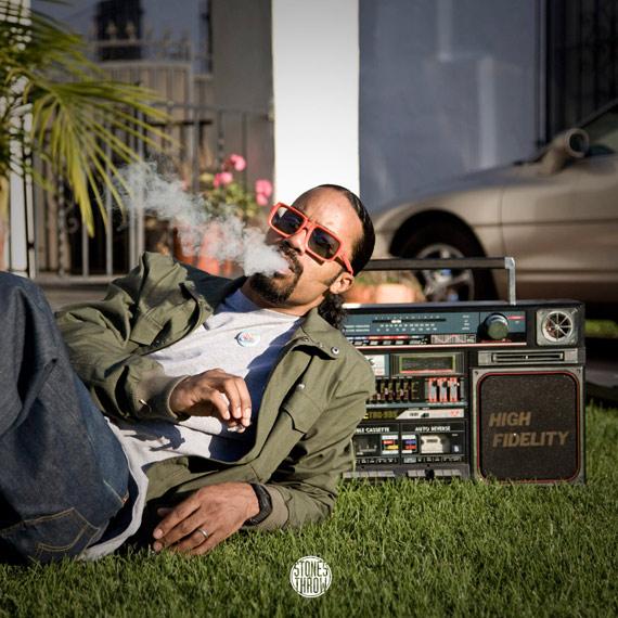 Dam-Funk – Hood Pass Intact 12″ feat MC Eiht & Steve Arrington