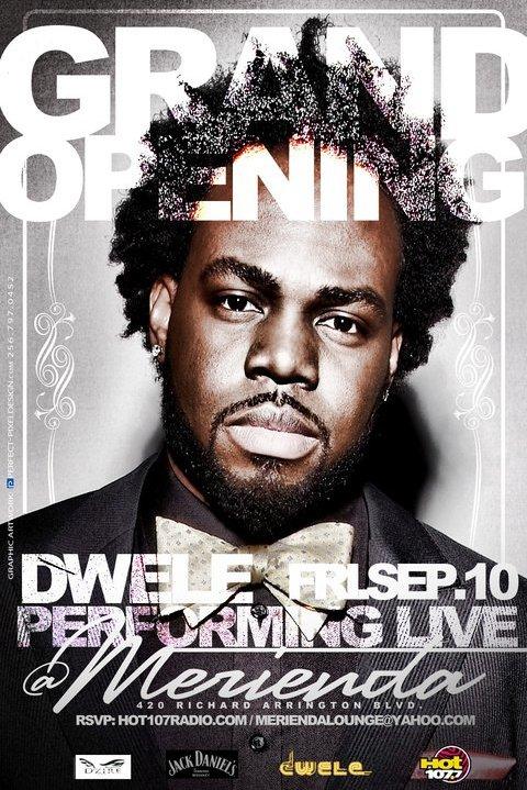 Dwele LIVE in Concert w/Hot 107.7 & DJ Rahdu