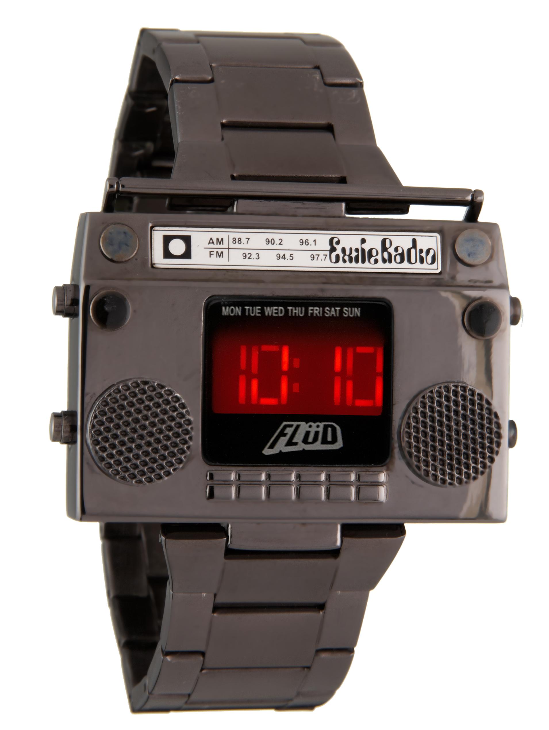 Exile x Flud Watches – Radio Mixtape