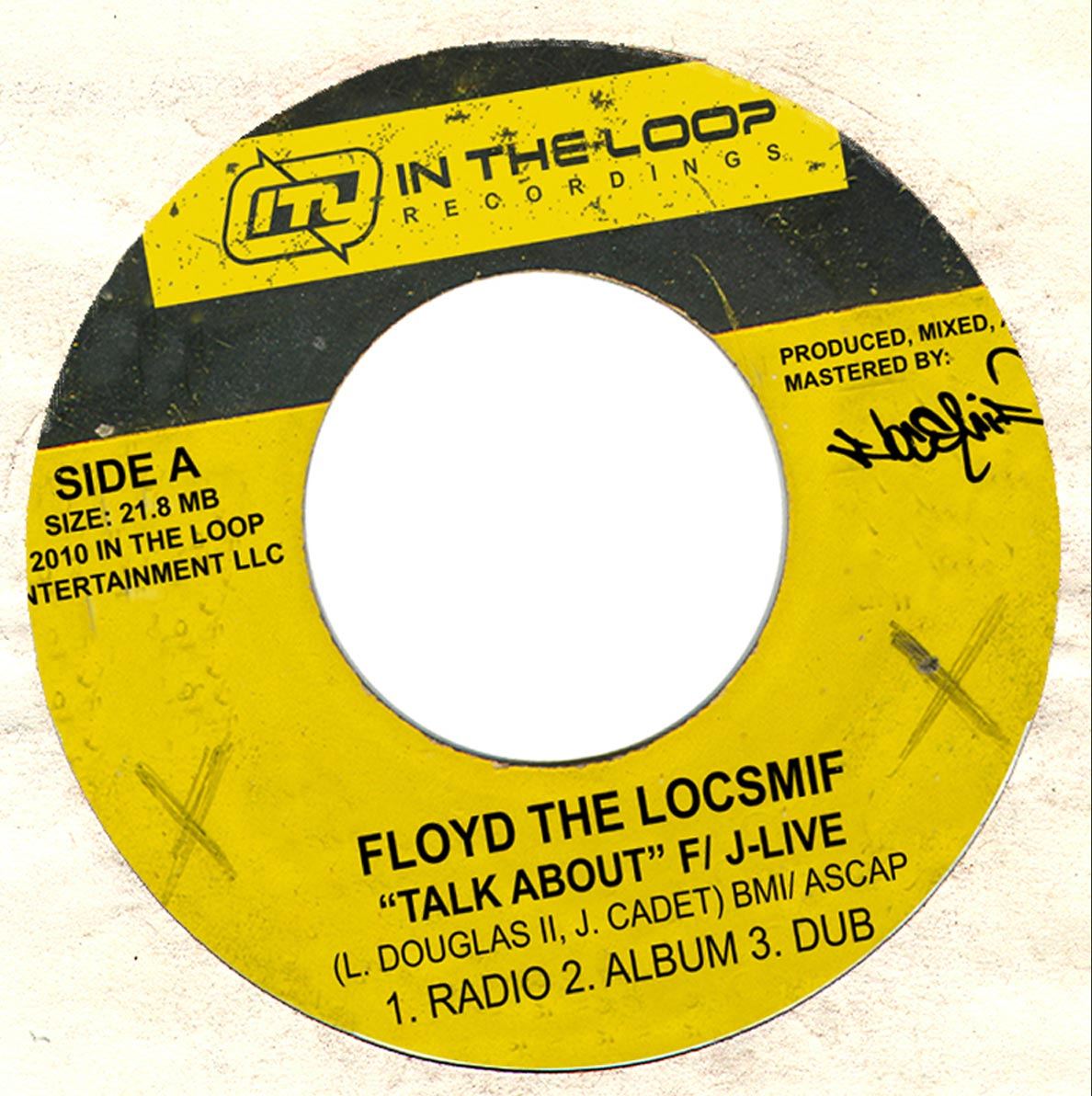 Floyd The Locsmif – Talk About feat J-Live B/W Flowtation Device
