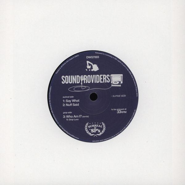 Sound Providers – Who Am I Remix feat Grap Luva
