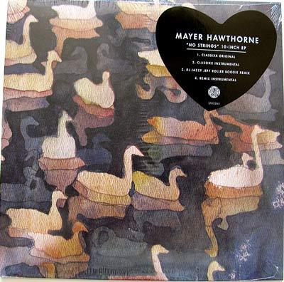 Mayer Hawthorne – No Strings 10″ EP