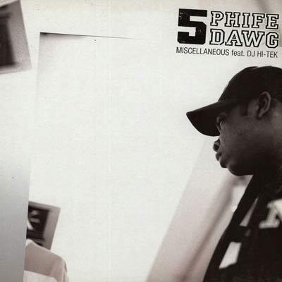 Late Pass #62: Phife Dawg- Miscellaneous (DJ Hi-Tek Luv Boat Mix)