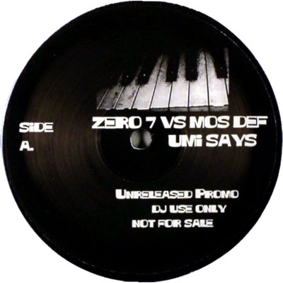 Late Pass #65: Zero 7 vs Mos Def – Umi Says
