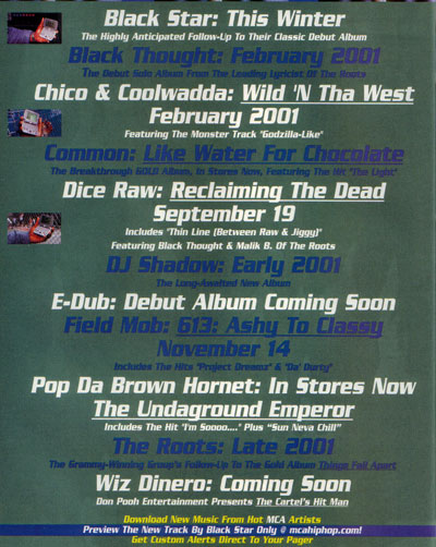 Black Star (Mos Def x Talib Kweli) – This Winter (Unreleased 2001 album)