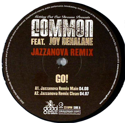Late Pass #75: Common – Go (Jazzanova Remix) feat Joy Denalane