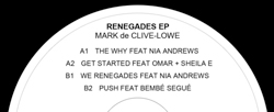 Mark de Clive-Lowe – Renegades (Sampler)
