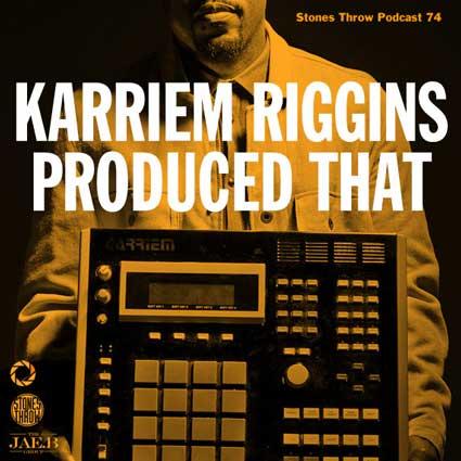 Karriem Riggins – Karriem Riggins Produced That (Mix)