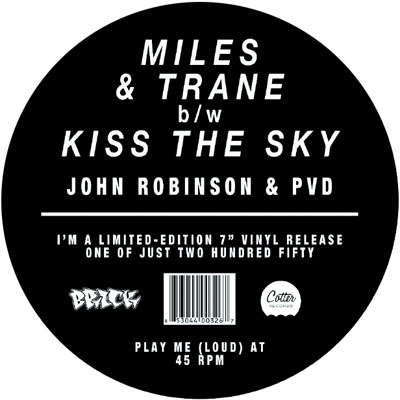 John Robinson & PVD – Miles & Trane