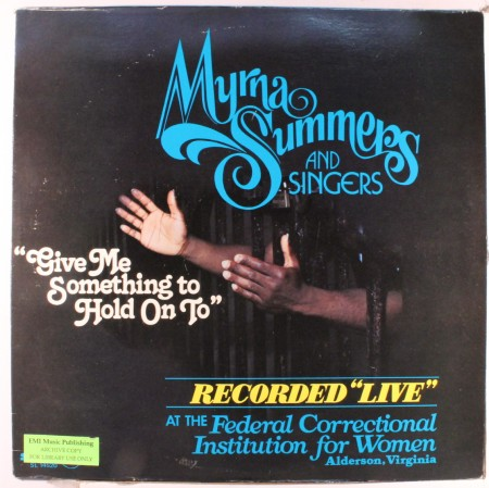 Saturday Sample Sessions 009: Myrna Summers – Give Me Something To Hold On To [Part 2]