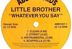 Late Pass #92: Little Brother – Whatever You Say (The Maxwell Mix)