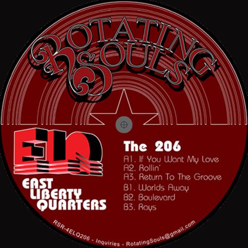 East Liberty Quarters (BusCrates 16-Bit Ensemble x Grand Ear x Nice Rec) – The 206 EP