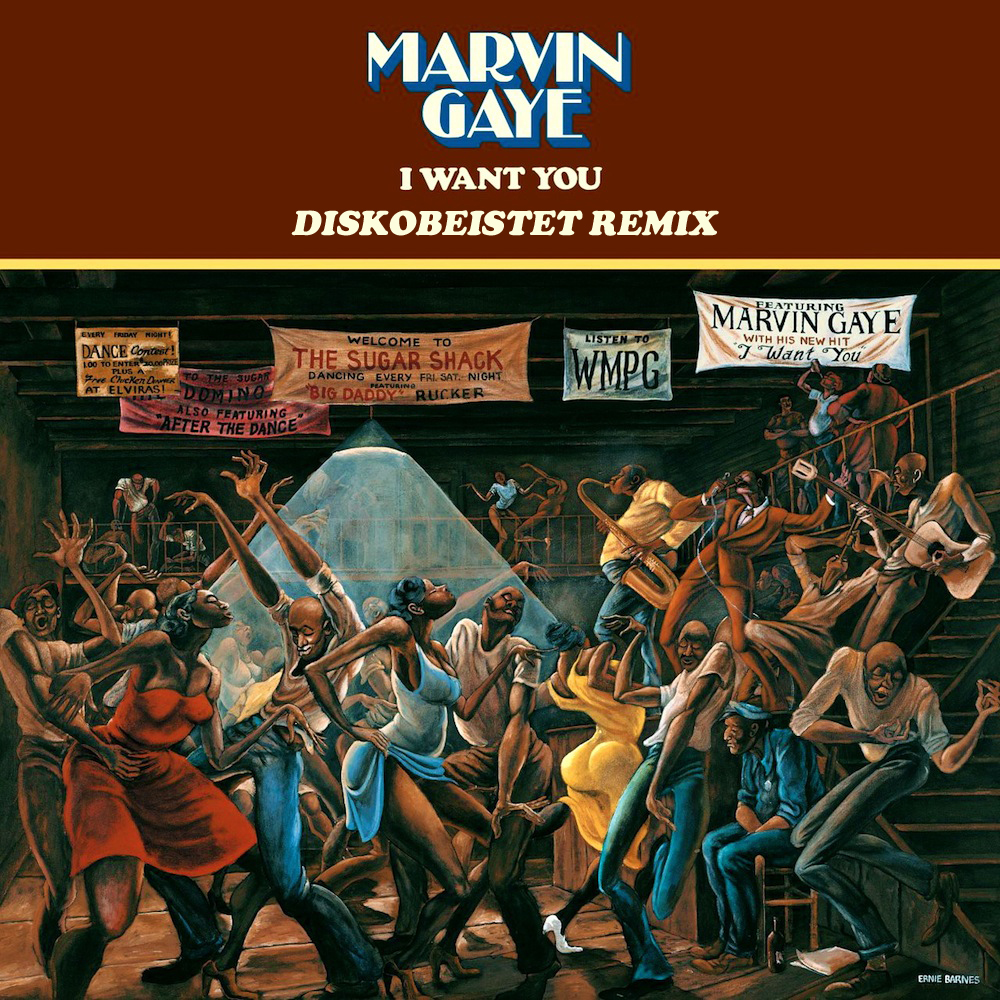 Marvin Gaye – I Want You (Diskobeistet Remix) [Download]