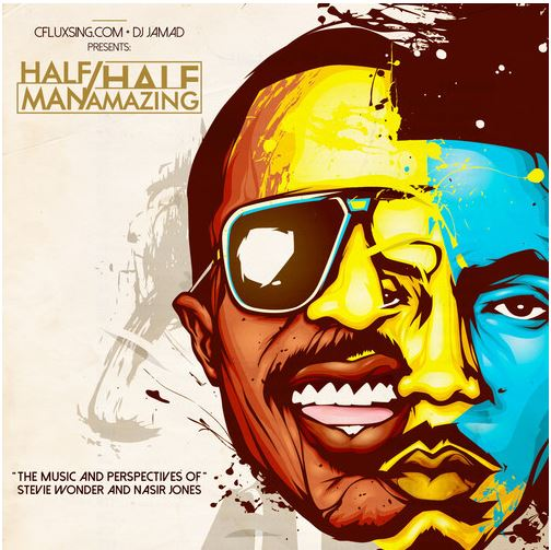 DJ Jamad – Half Man / Half Amazing (Stevie Wonder x Nas Mix)