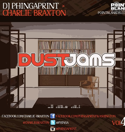 DJ Phingaprint and Charlie Braxton – Dust Jams Vol 4 (Download)
