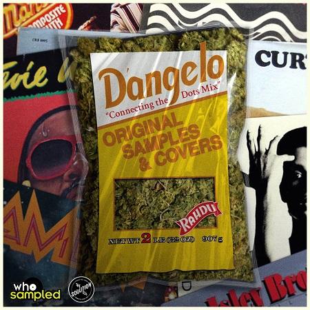 whosampled.com x DJ Rahdu – Connecting The Dots (D'angelo Original Samples & Covers Mix) | Download