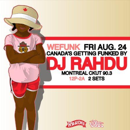 DJ Rahdu – WEFUNK Show #961